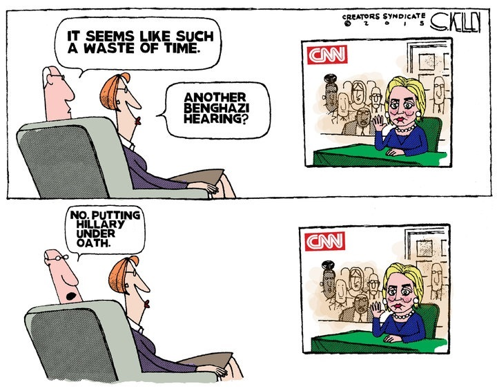 Hillary Oath